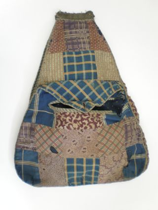 Lucy Locket's 19th century Patchwork Pocket