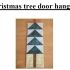 Christmas tree door hanging